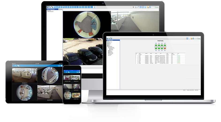 exacqvision video surveillance